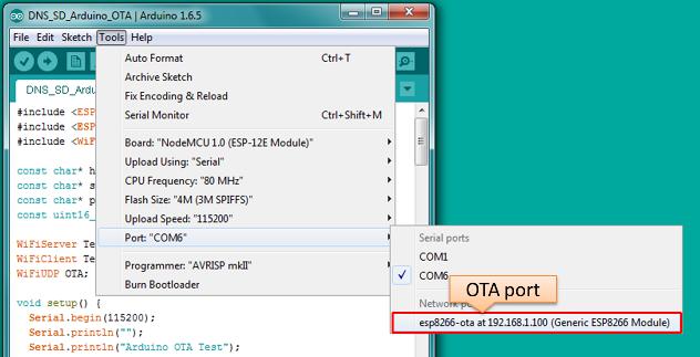 Esp8266 link for arduino ide