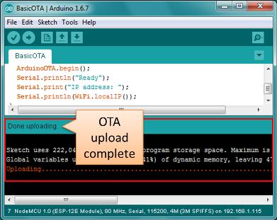OTA Update · ESP8266 Arduino Core